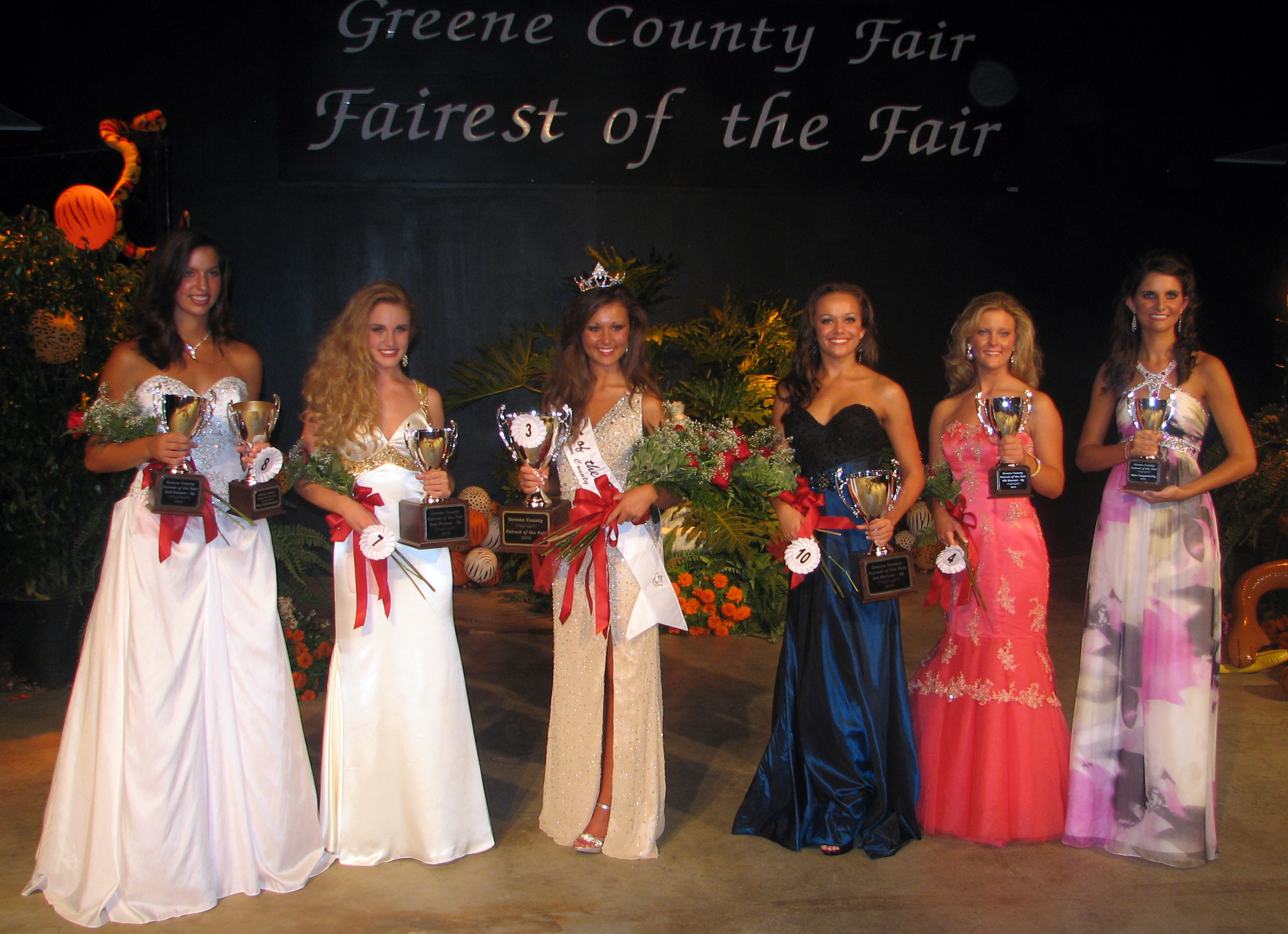 2010 Fairest of Fair - Court