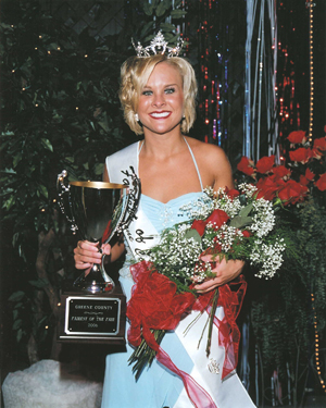 Cassie Marie Brooks - 2006 Greene County Fairest of the Fair