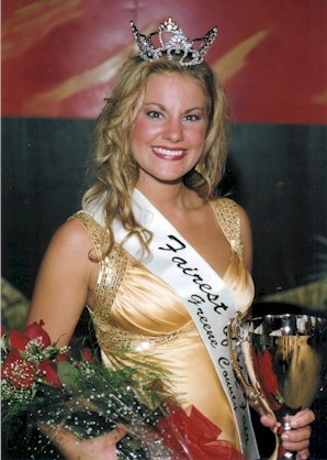Bailey Grace Christine Morgan - 2007 Greene County Fairest of the Fair
