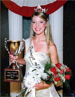 Jessica Britton - 2008 Greene County Fairest of the Fair